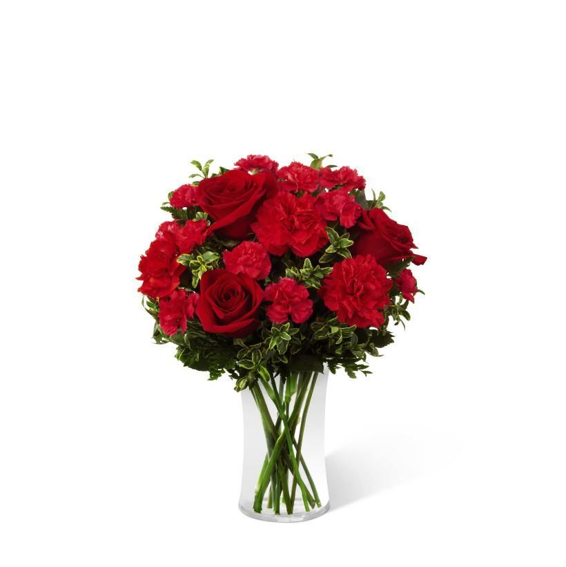 The FTD® Always True Bouquet - All Red - Shalimar Flower Shop