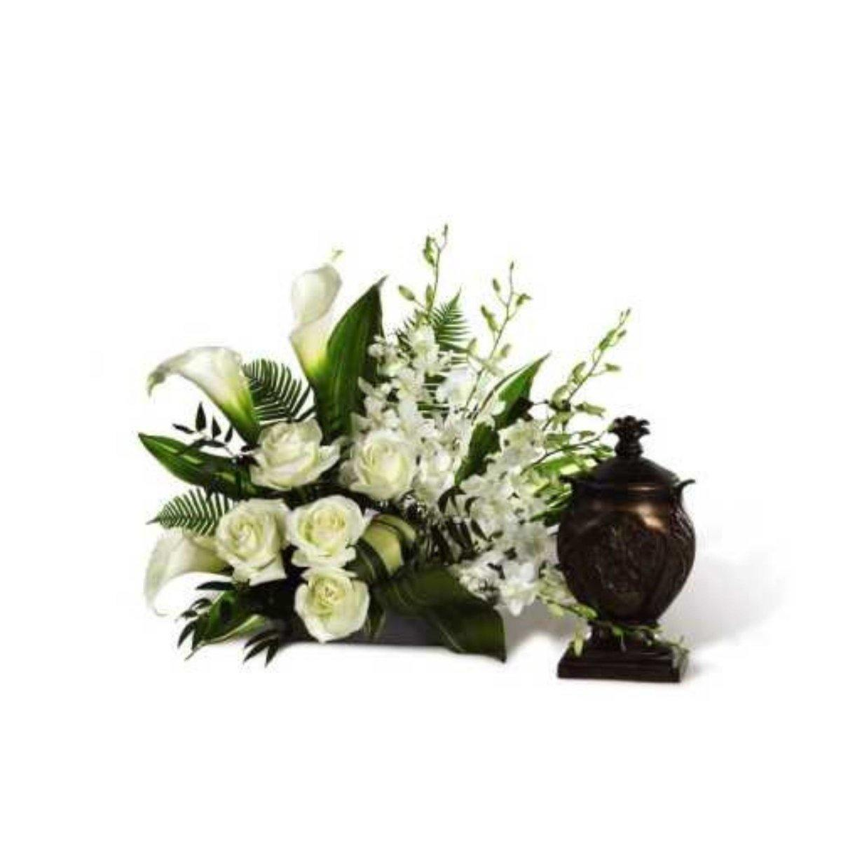 The FTD® At Peace Arrangement - Shalimar Flower Shop
