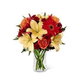 The FTD® Autumn Roads Bouquet with Lilies - Shalimar Flower Shop