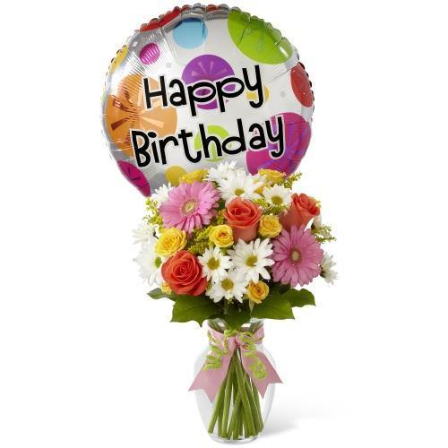 The FTD® Birthday Cheer Bouquet - Shalimar Flower Shop