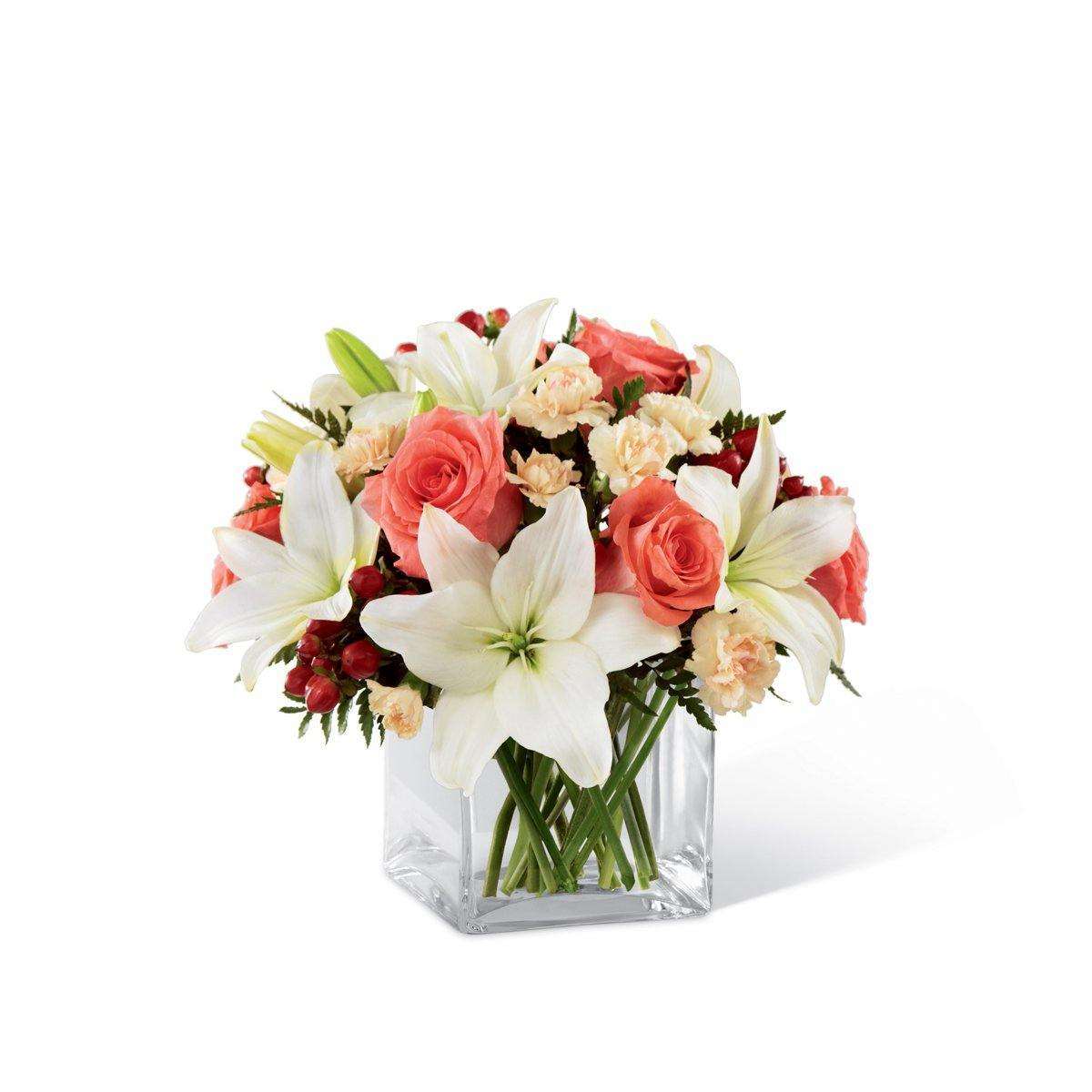 The FTD® Blushing Beauty™ Bouquet - Shalimar Flower Shop