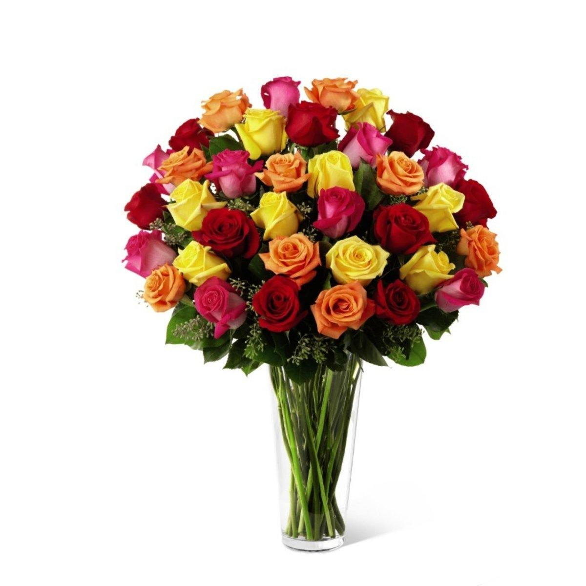 The FTD® Bright Spark™ Bouquet Exquisite - Shalimar Flower Shop