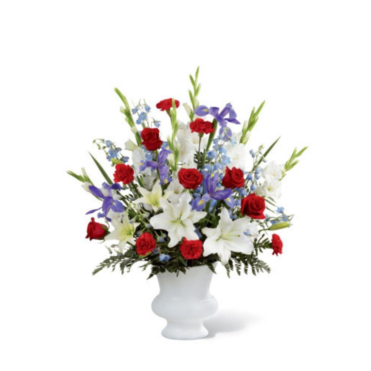 The FTD® Cherished Farewell Arrangement - Shalimar Flower Shop