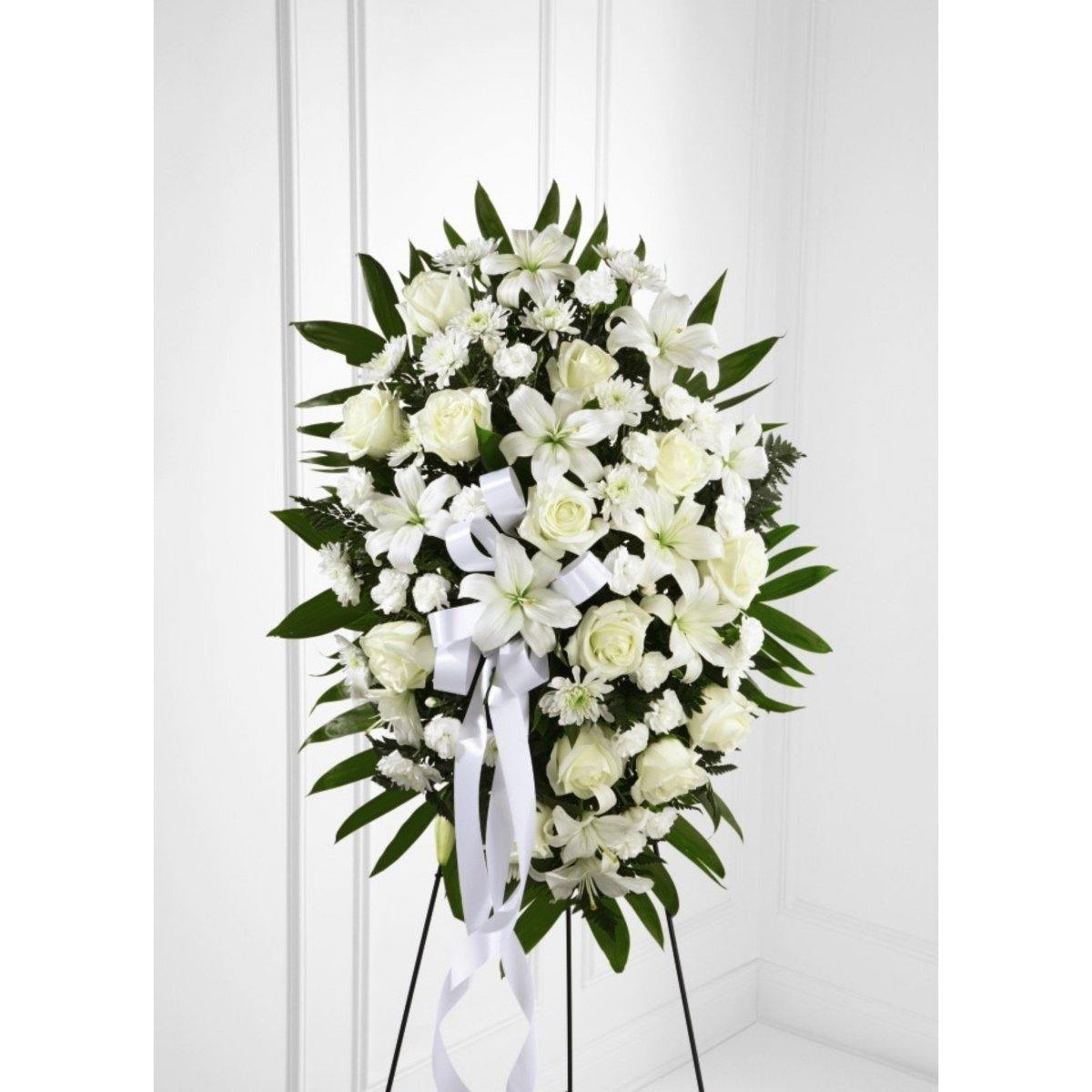 The FTD® Exquisite Tribute Spray - Shalimar Flower Shop