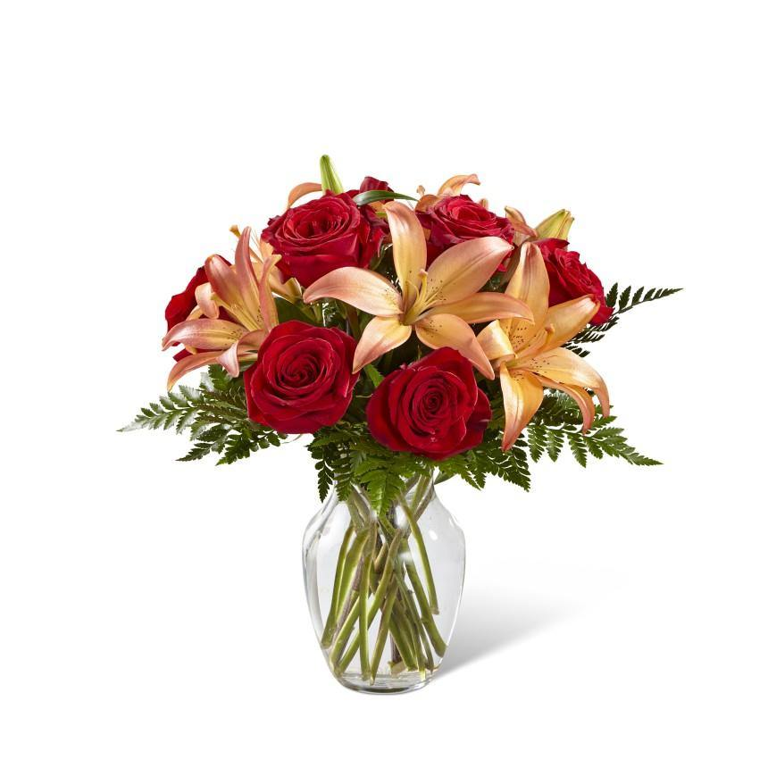 The FTD® Fall Fire Bouquet - Shalimar Flower Shop