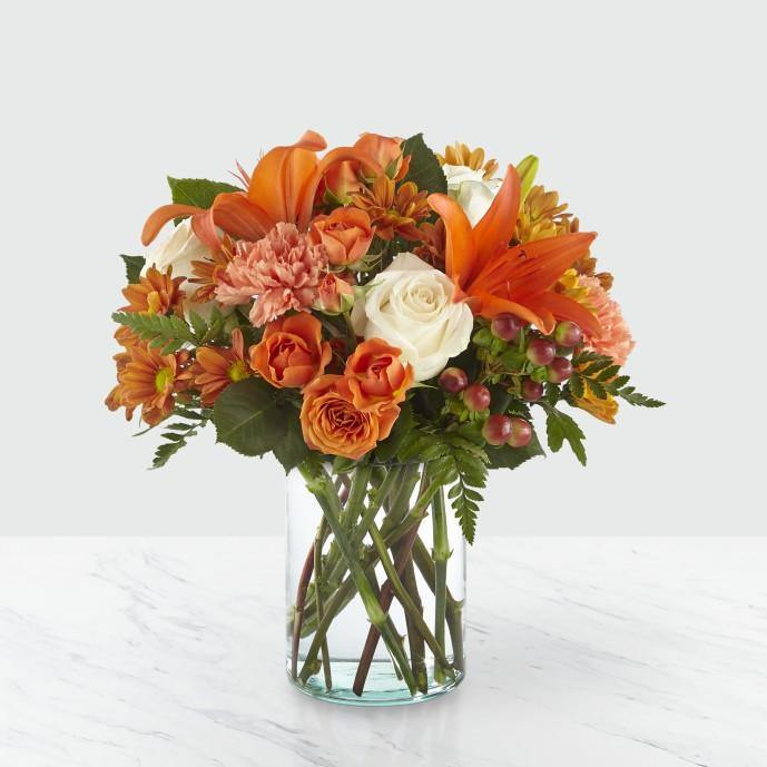The FTD® Falling for Autumn Bouquet - Shalimar Flower Shop