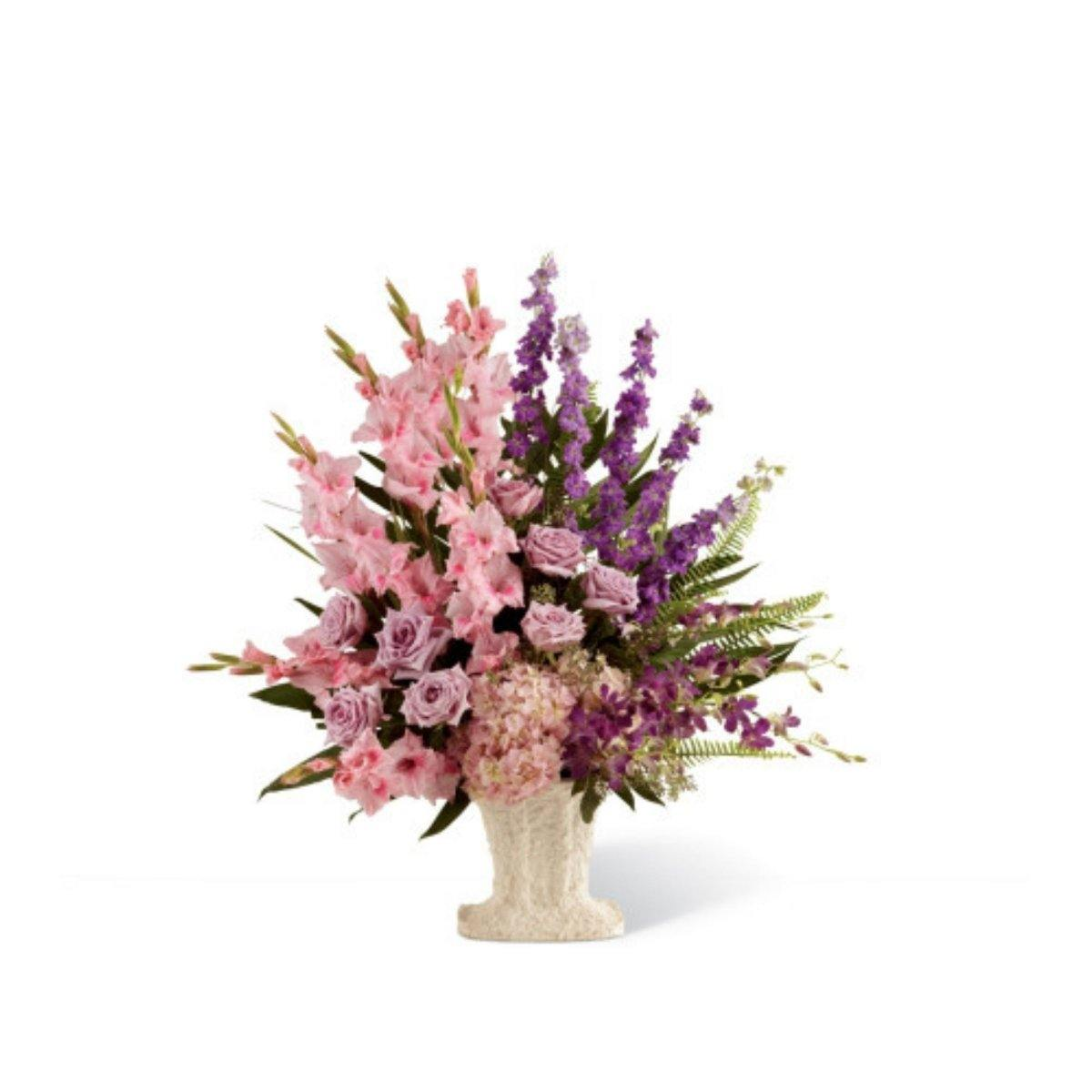The FTD® Flowing Garden Arrangement - Shalimar Flower Shop
