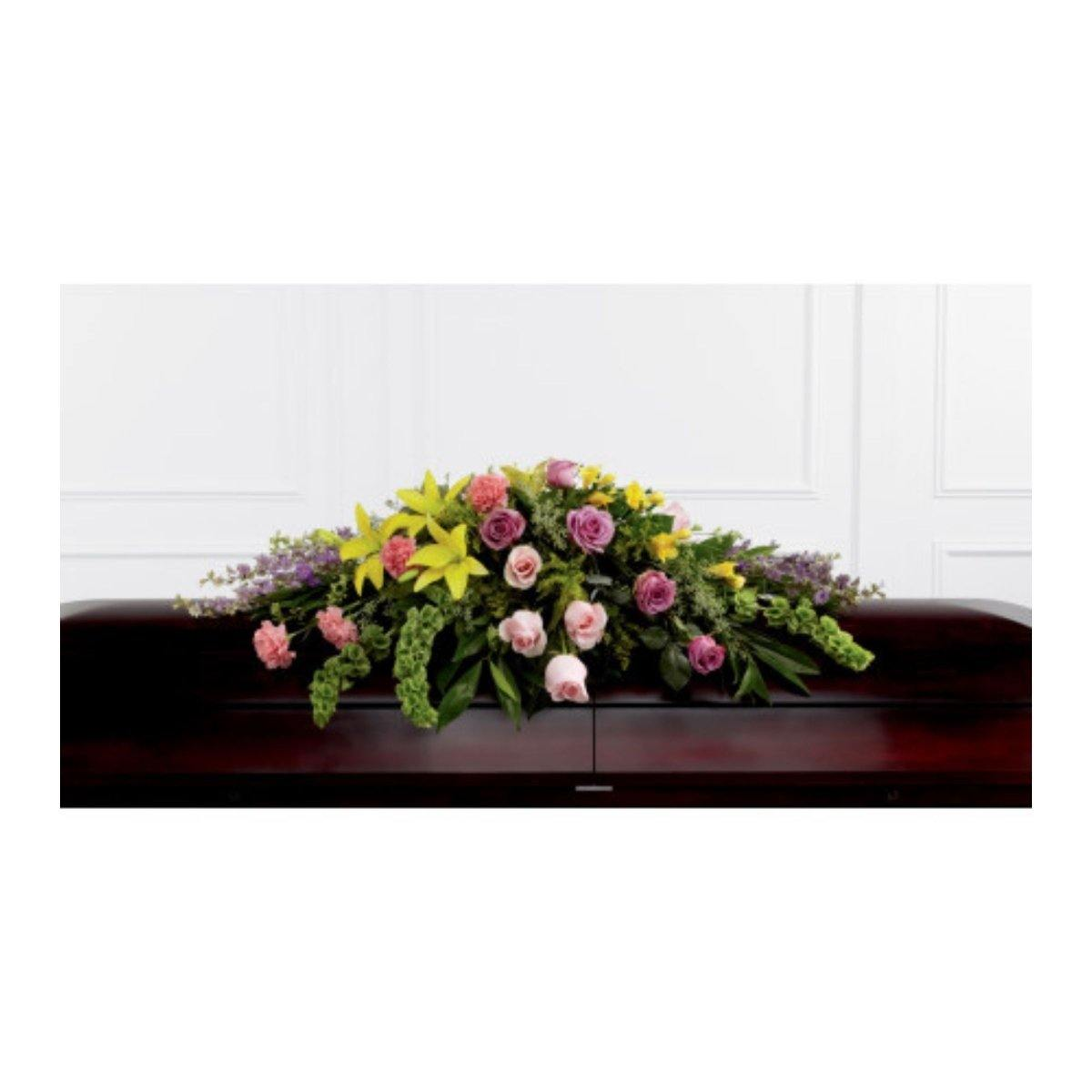 The FTD® Forever Beloved Casket Spray - Shalimar Flower Shop