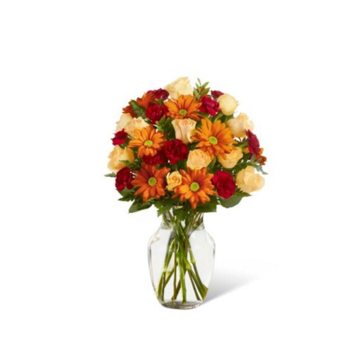 The FTD® Golden Autumn Bouquet