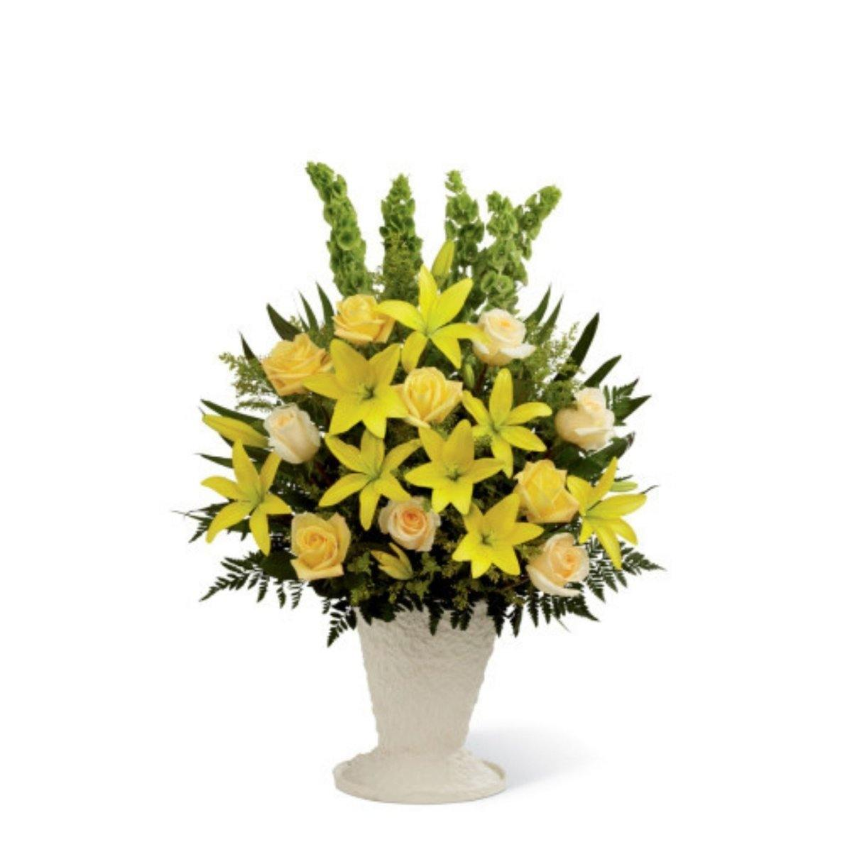 The FTD® Golden Memories Arrangement - Shalimar Flower Shop