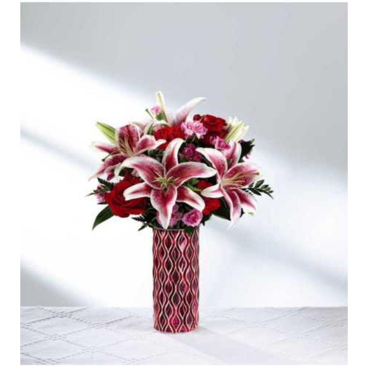 The FTD® Lasting Romance Bouquet - Shalimar Flower Shop