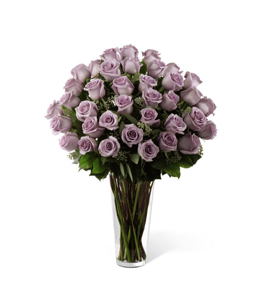 The FTD® Lavender Rose Bouquet - Shalimar Flower Shop