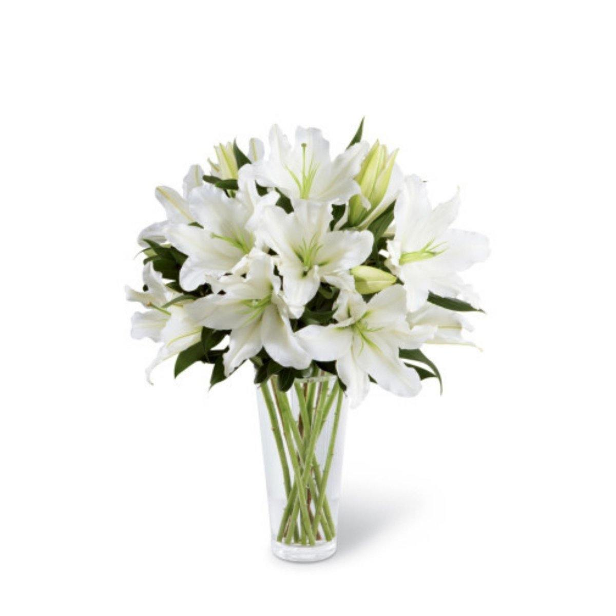 The FTD® Light in Your Honor Bouquet - Shalimar Flower Shop