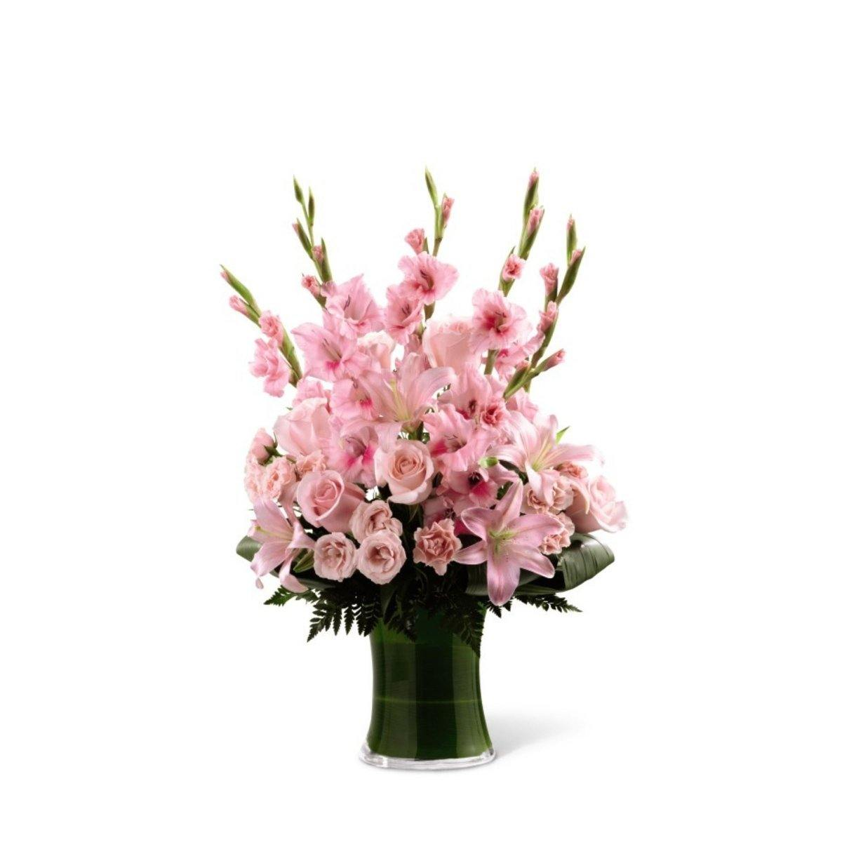 The FTD® Lovely Tribute Bouquet - Shalimar Flower Shop