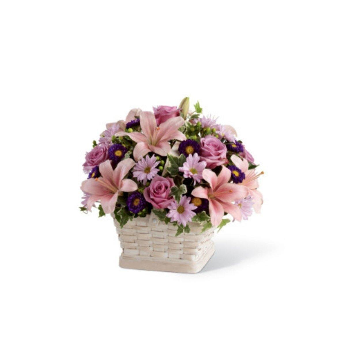 The FTD® Loving Sympathy Basket - Shalimar Flower Shop