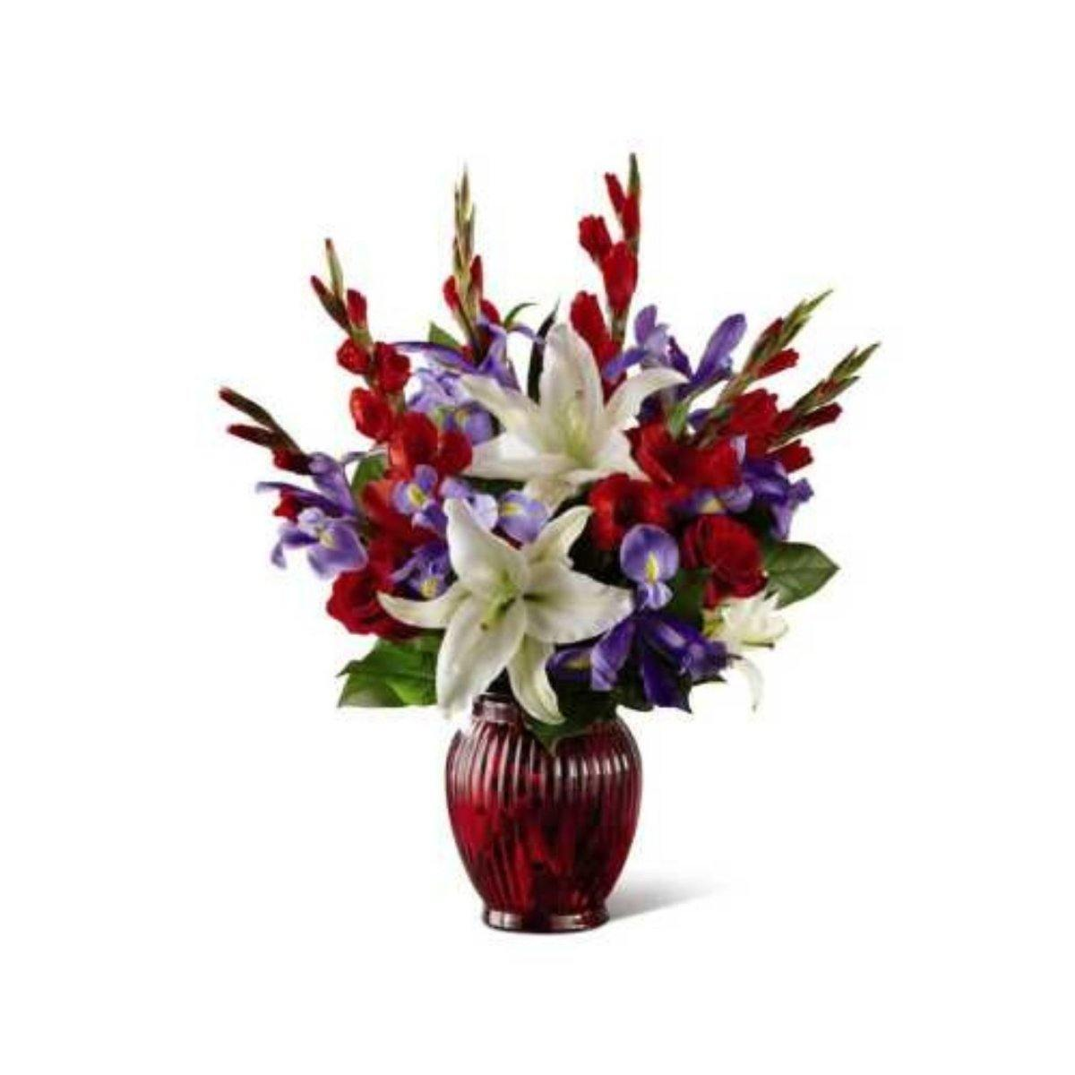 The FTD® Loyal Heart Bouquet - Shalimar Flower Shop