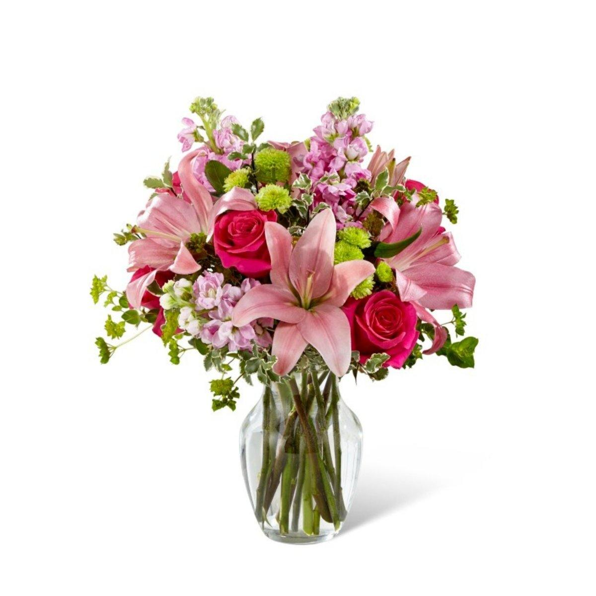 The FTD® Pink Posh Bouquet - Shalimar Flower Shop
