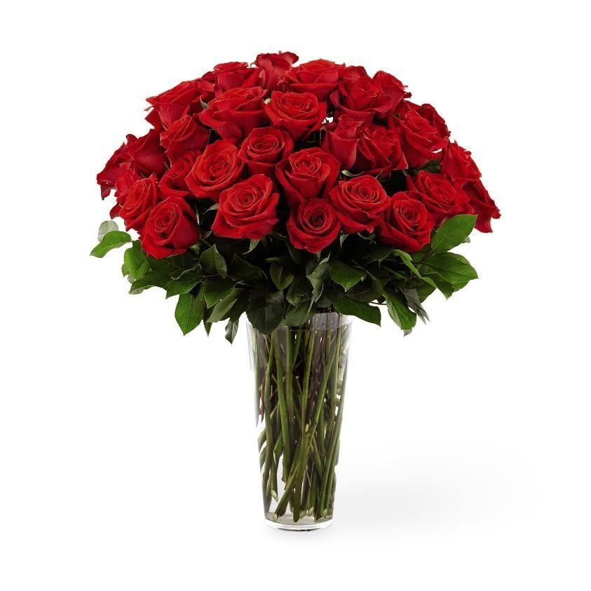 The FTD® Red Rose Bouquet - Exquisite - Shalimar Flower Shop