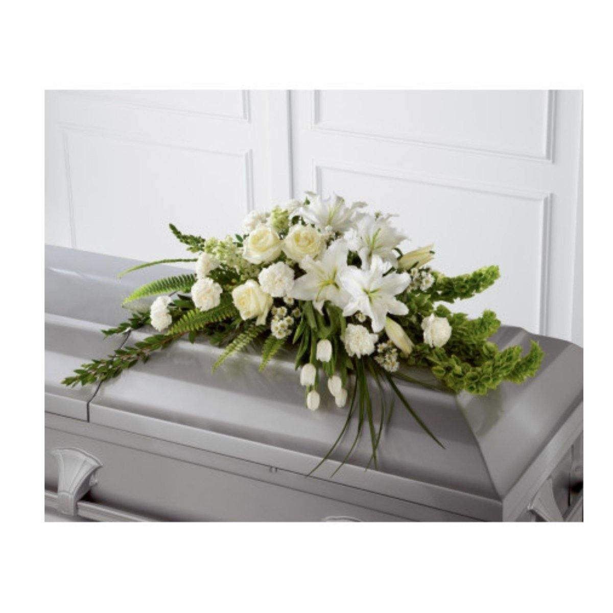 The FTD Resurrection Casket Spray - Shalimar Flower Shop