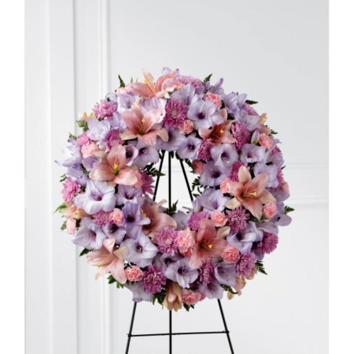 The FTD® Sleep in Peace Wreath - Shalimar Flower Shop