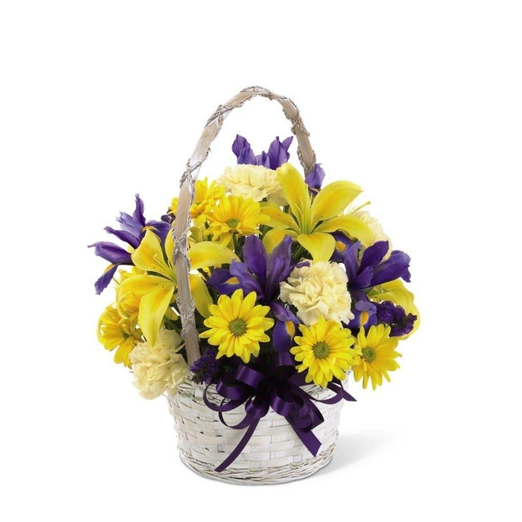 The FTD® Spirit of Spring Basket - Shalimar Flower Shop