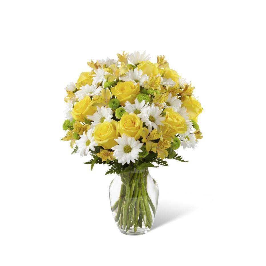 The FTD® Sunlit Blooms Bouquet - Shalimar Flower Shop