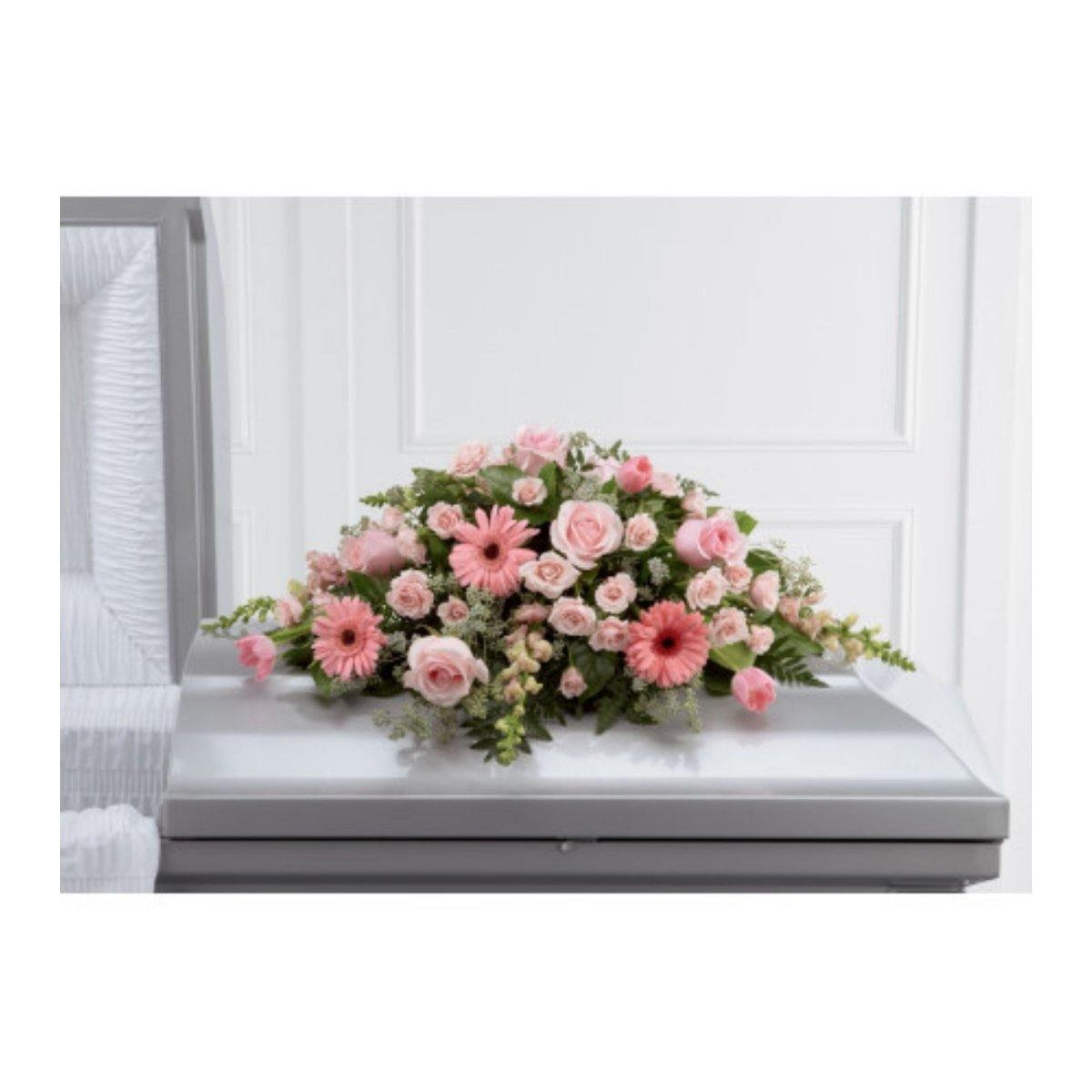 The FTD® Sweet Farewell Casket Spray - Shalimar Flower Shop