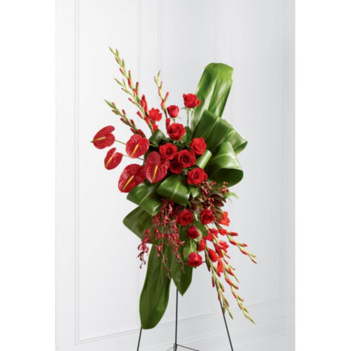 The FTD® Sweet Thought Standing Spray - Shalimar Flower Shop