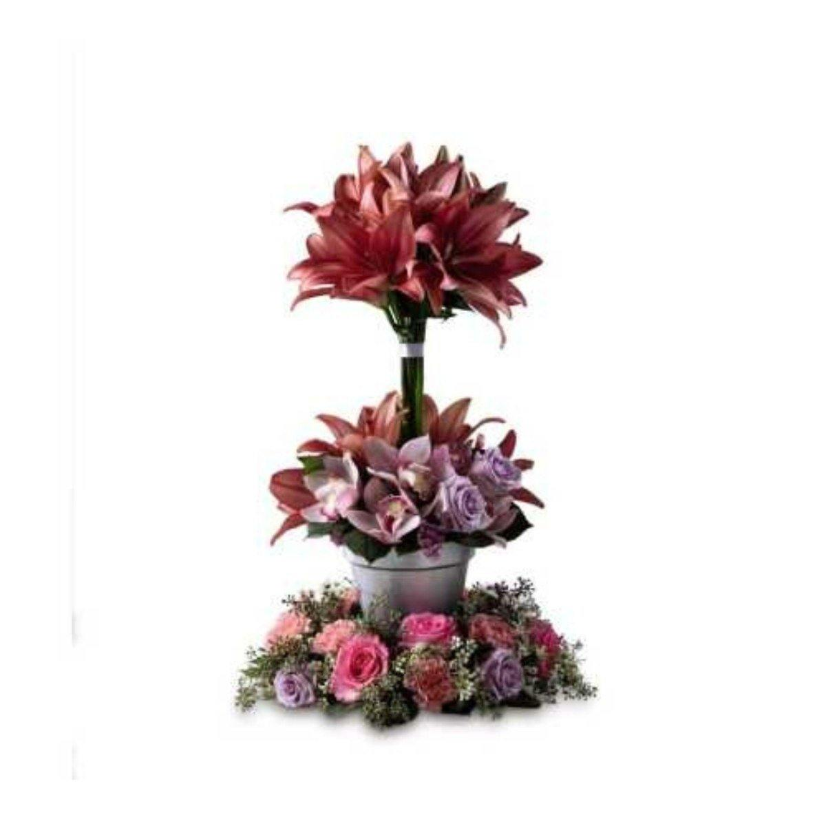 The FTD Towering Beauty Arrangement - Shalimar Flower Shop