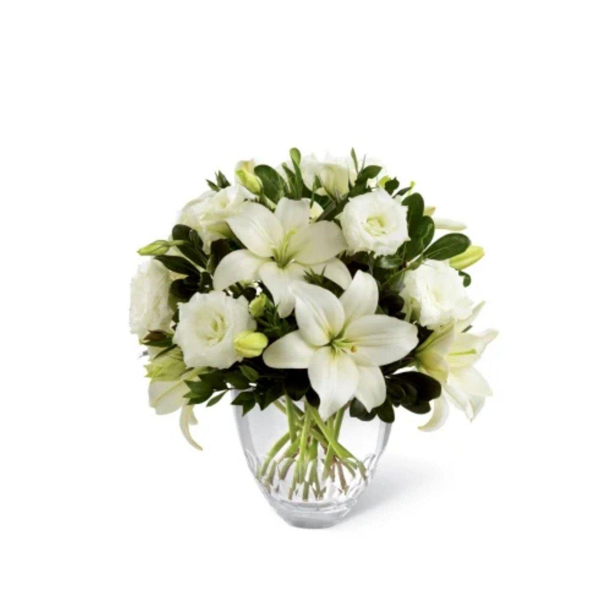 The FTD® White Elegance™ Bouquet - Shalimar Flower Shop