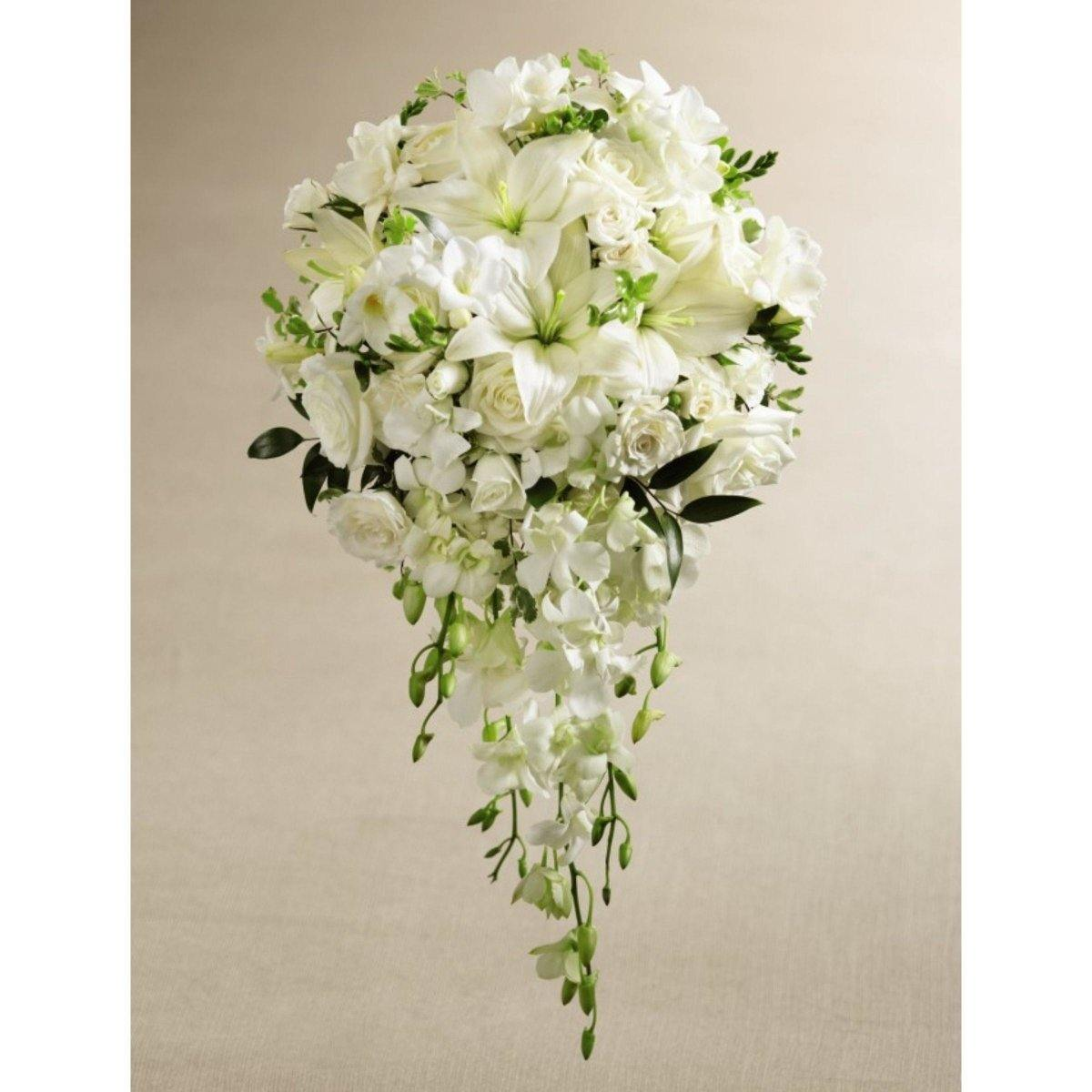 The FTD White Wonders Bouquet - Shalimar Flower Shop