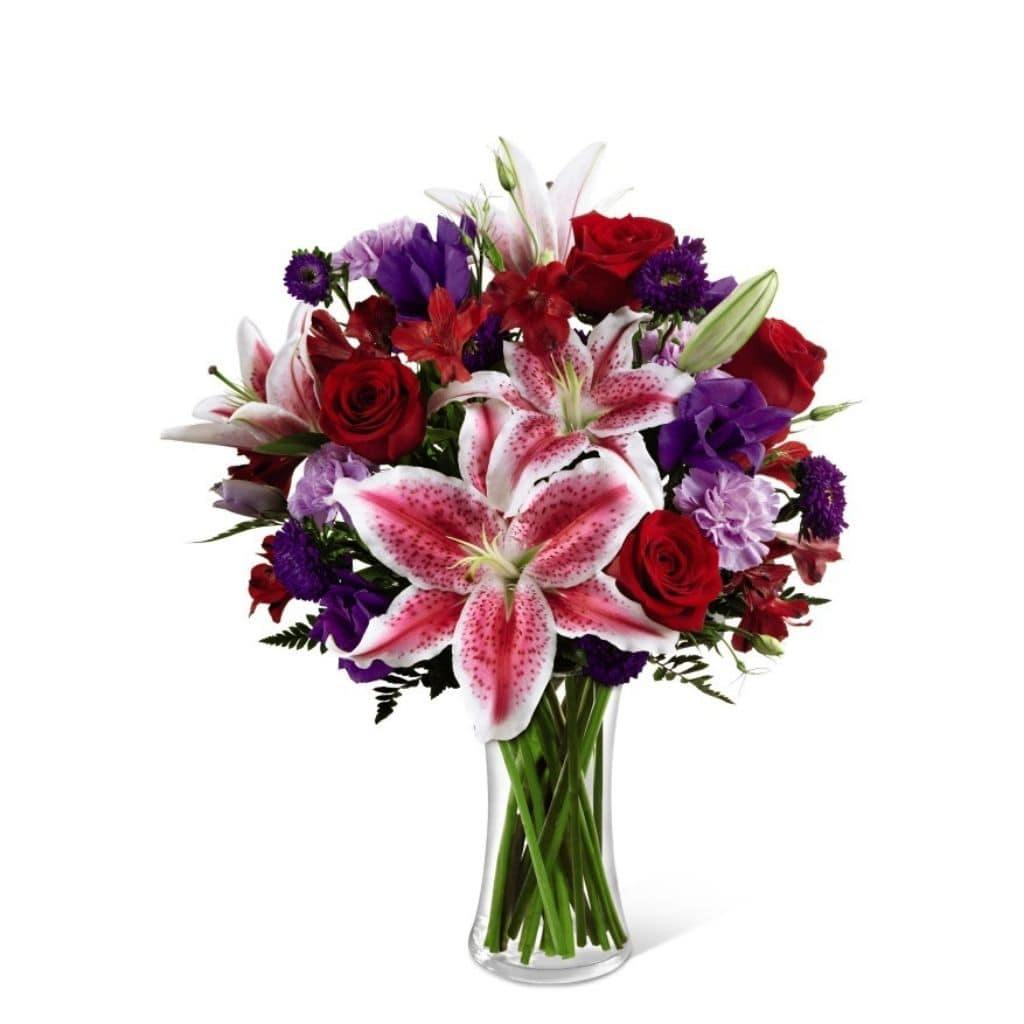 The Stunning Beauty Bouquet by FTD® - Shalimar Flower Shop