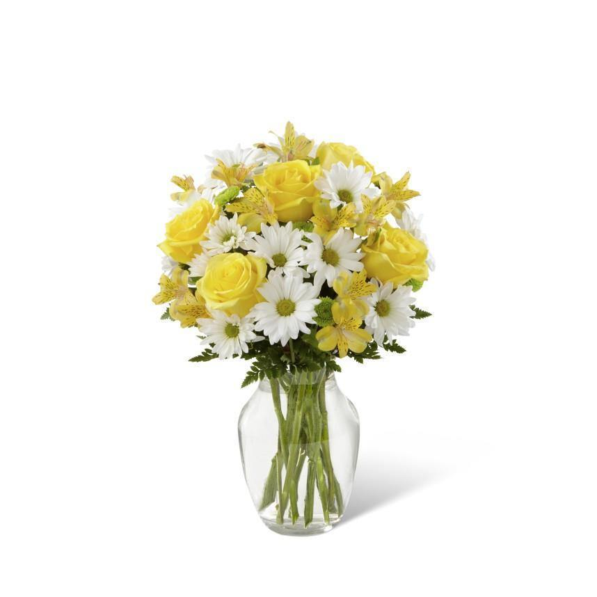 The Sunny Sentiments Bouquet by FTD® - Shalimar Flower Shop