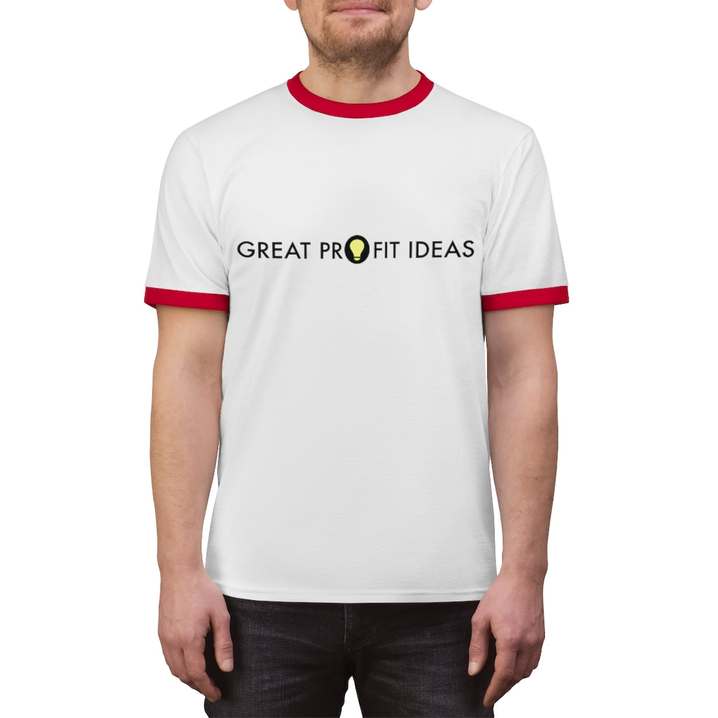 Great Profit Ideas Unisex Ringer Tee