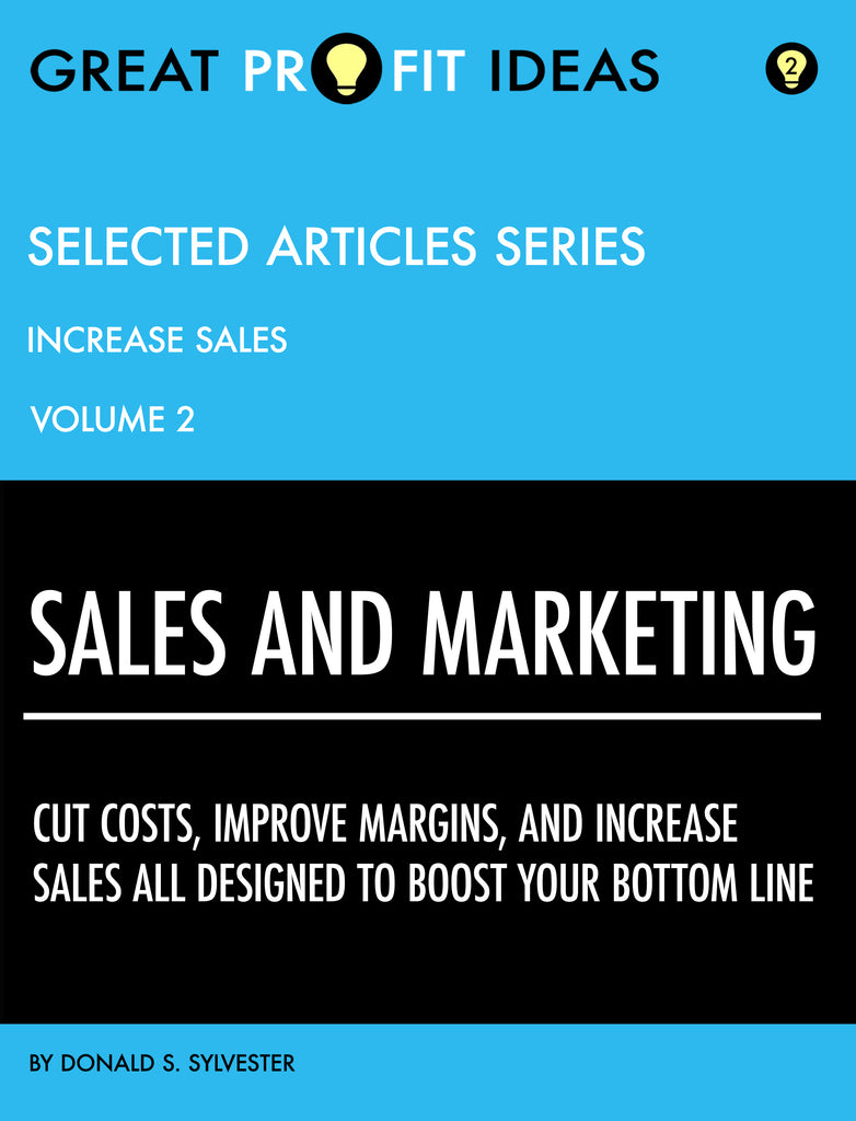 PDF Download - GPI Selected Articles Series - Sales & Marketing - Increasing Sales - Volume 2