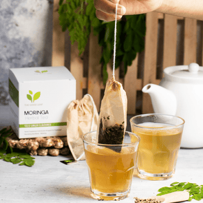 Moringa Herbal Tea Bags | The Good Leaf