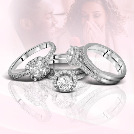 Halo Engagement Rings from $15