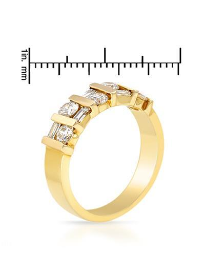 Brand New Ring with 1.05ctw diamond 14K Yellow gold