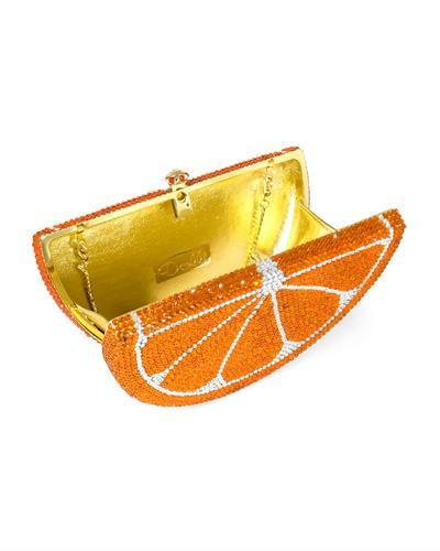 Dolli Wedge Brand New Clutch with 0ctw crystal  Gold base metal