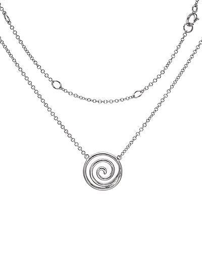 Brand New Necklace with 0.3ctw diamond 18K White gold