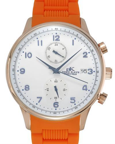 Adee Kaye AK7501-RGSV Brand New Japan Quartz date Watch