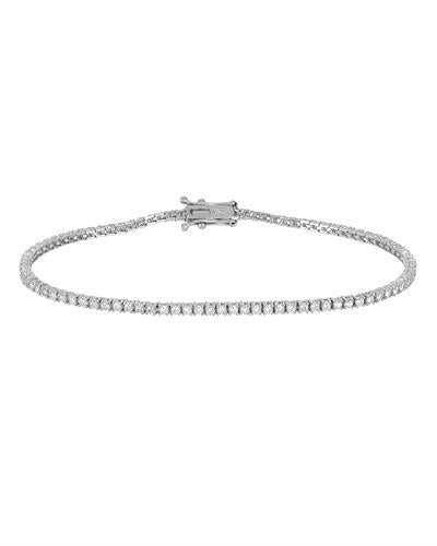 Julius Rappoport Brand New Bracelet with 1.46ctw diamond 18K White gold