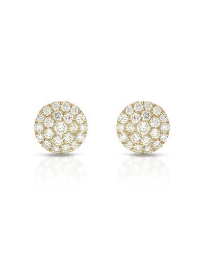 Whitehall Brand New Earring with 0.47ctw diamond 10K Yellow gold