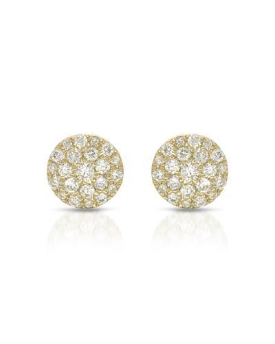 Whitehall Brand New Earring with 0.21ctw diamond 10K Yellow gold