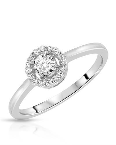 Whitehall Brand New Ring with 0.15ctw diamond 14K White gold