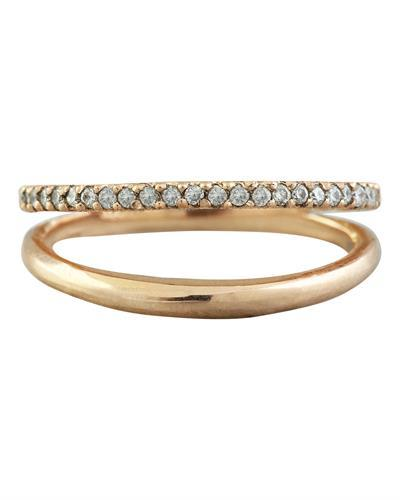 0.25 Carat 14K Rose Gold Diamond Ring