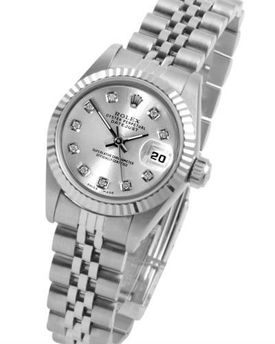 Rolex 6900 Series PreOwned Automatic date Watch with 0.1ctw diamond
