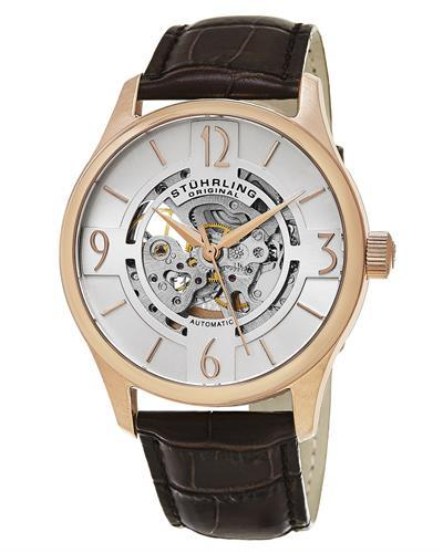 STUHRLING ORIGINAL 557.04 Legacy Brand New Automatic Watch