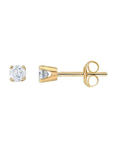 Brand New Earring with 0.25ctw diamond 10K Yellow gold