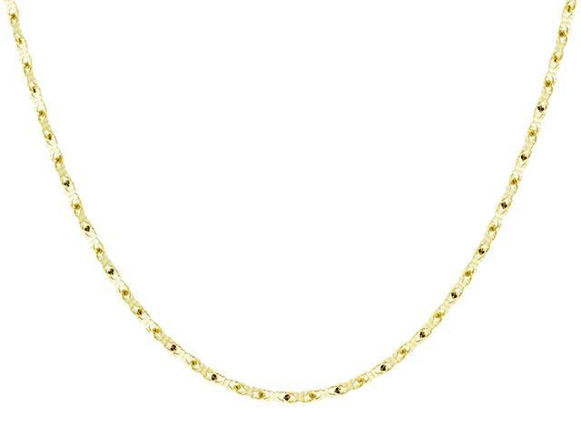 SeChic Brand New Chain Necklace in 14K Yellow Gold